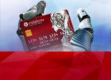 บัตร InstaForex Benecardบัตรเดบิต