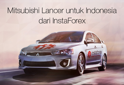 Mitsubishi Lancer untuk Indonesia dari InstaForex