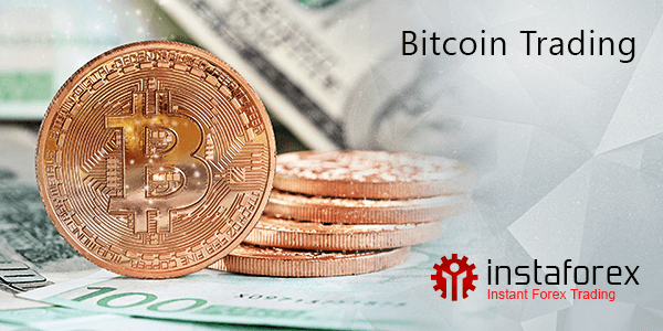 Deposit bitcoins, trade bitcoins with InstaForex!