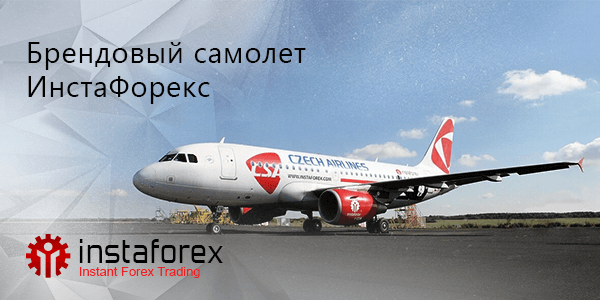 InstaForex airplane