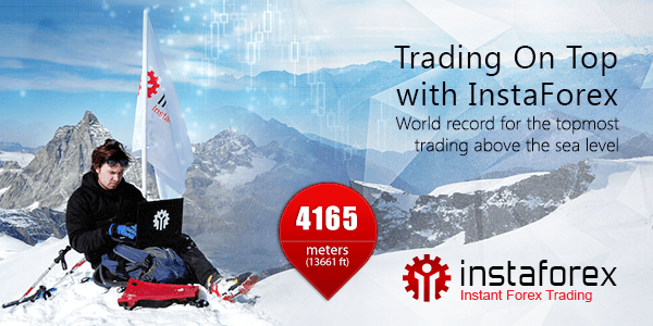 Trading on top met InstaForex!