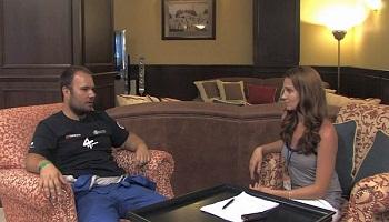 拉力赛后采访阿列什·洛普莱斯