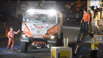 1era etapa de Dakar 2014