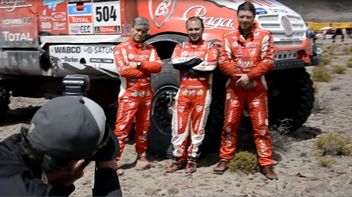 Dakar 2014 7th stage