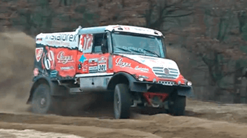 InstaForex Loprais Team goes for Dakar 2014