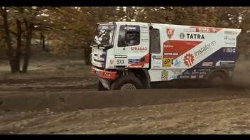 Sessão de teste do Tatra Buggyra  / DAKAR 2017