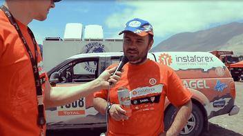 Rallye Dakar 2015: la huitième étape