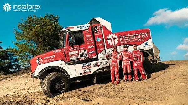 InstaForex Loprais Team - pre Dakar Shaking