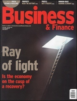 Revista Business & Finance, mayo 2010