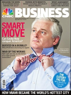 Revista CNBC Business, abril de 2011