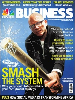 Revista CNBC Business, mayo de 2011