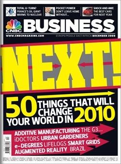 CNBC Magazine, December 2009