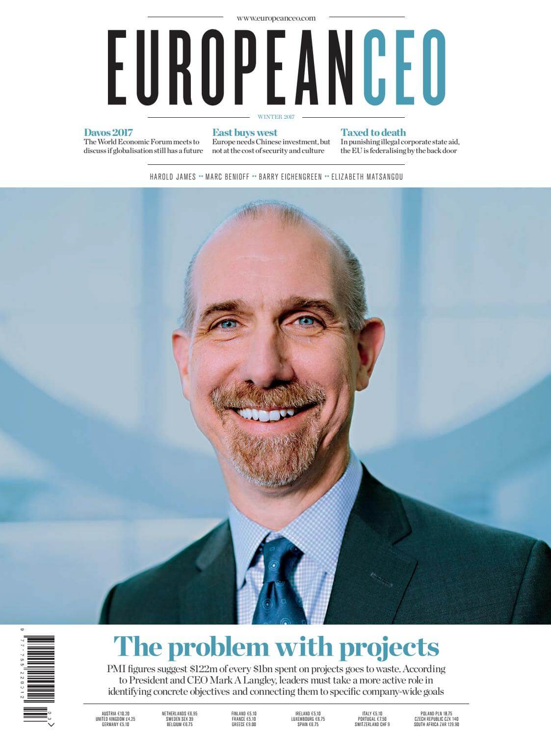European CEO Magazine, Winter 2017