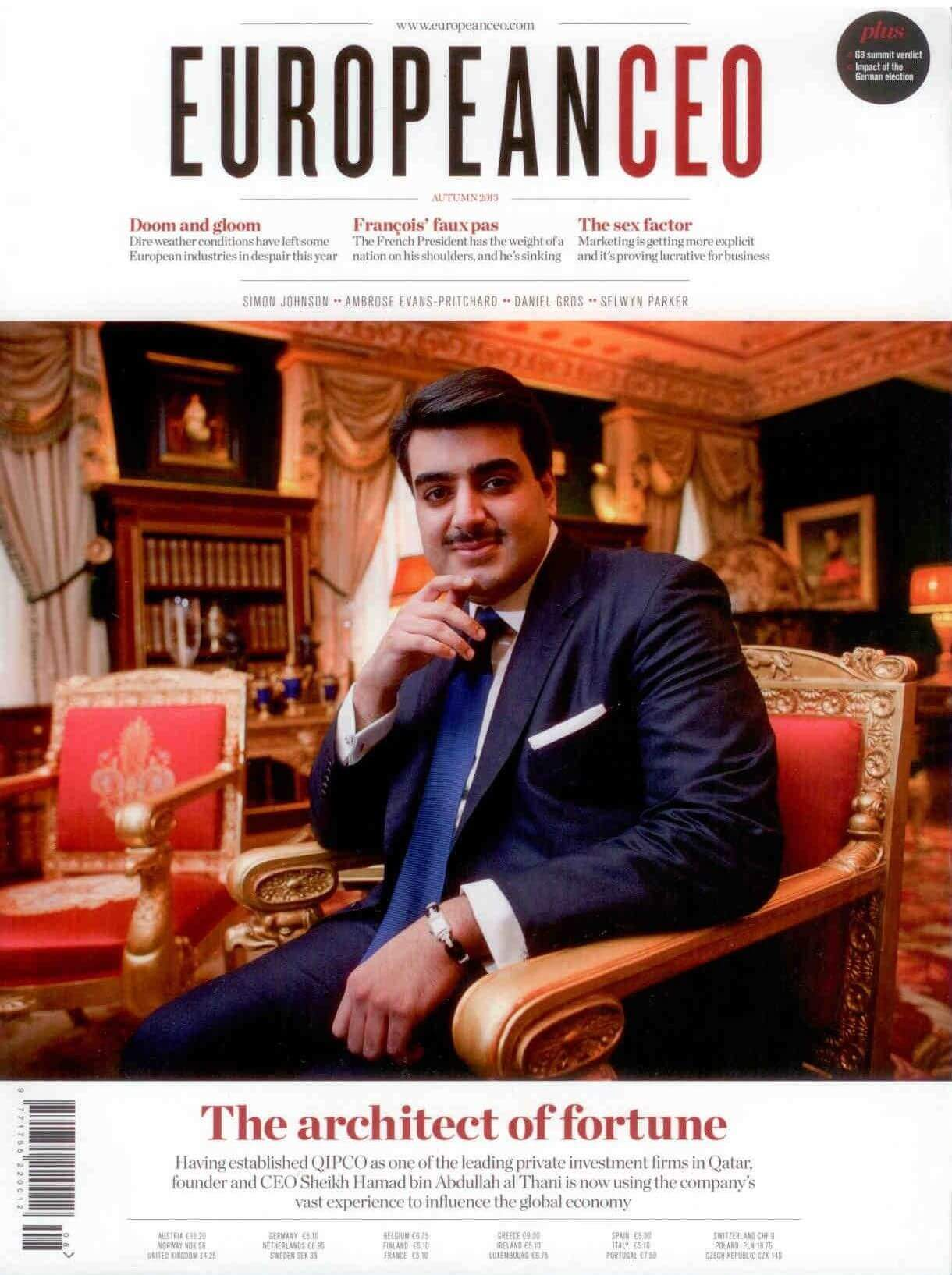Revista European CEO, otoño de 2013