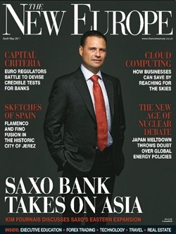 Revista The New Europe Magazine, de abril a mayo de 2011