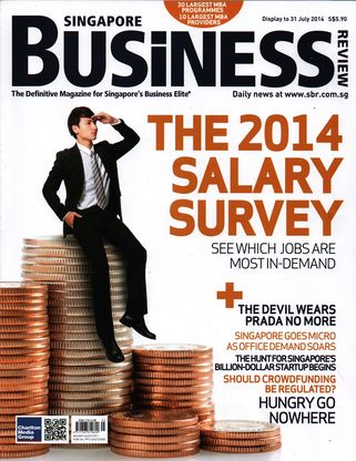 Singapore Business Review Magazine, July 2014
