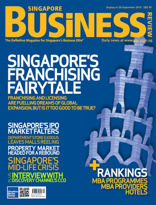 Singapore Business Review, Septiembre 2015