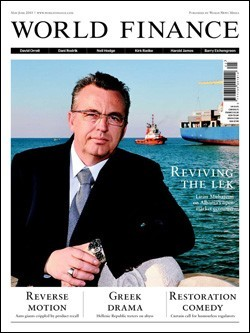 Revista World Finance, junio 2010