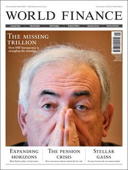 Revista World Finance, noviembre 2009