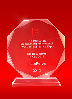 Best Broker in Asia 2012 by the 10th China Guangzhou International Investment and Finance Expo