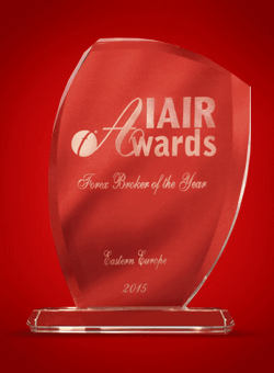 Best Forex Broker Eastern Europe 2015 by IAIR Awards