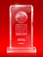 Mejor Bróker de Asia del Norte por  World Finance Awards 2013