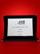 Best Forex Broker in Asia 2016 by IAIR Awards