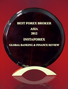 Mejor Bróker Forex en Asia 2012 por Global Banking & Finance Review