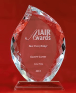 Beste Forex Broker Oost-Europa 2014 door IAIR awards