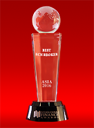 Melhor Broker ECN na Asia pela International Finance Awards