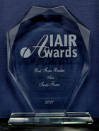 Cel mai bun Broker din Asia in 2012 - IAIR Awards