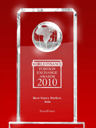 World Finance Awards 2010, el Mejor Bróker en Asia