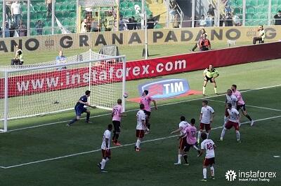 InstaForex adalah rakan niaga rasmi AS Citta di Palermo dari 2015 hingga 2017.
