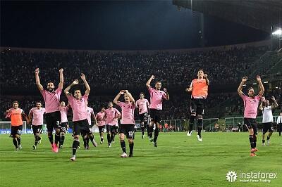 Firma InstaForex była oficjalnym partnerem klubu piłkarskiego Palermo od 2015 do 2017 roku.