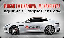 Don't dream it, win it! Jaguar F-Type from InstaForex