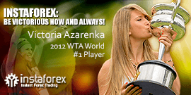 Victoria Azarenka - big name in tennis and InstaForex brand ambassador