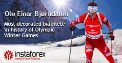 Král biatlonu Ole Einar Bjørndalen