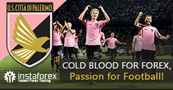 Palermo FC becomes InstaForex partner