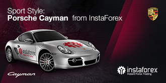 Estilo deportivo: Porsche Cayman de InstaForex