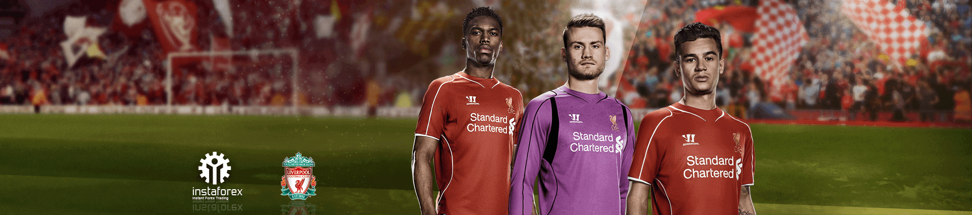 Liverpool football club official partner of InstaForex