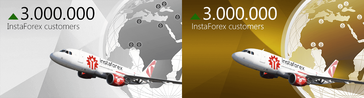 Open a live trading account with InstaForex